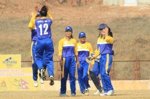 प्रदेश १ ले जित्यो प्रधानमन्त्री कप महिला राष्ट्रिय क्रिकेटको उपाधि