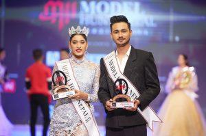 Pravin and Anisha scores victory at Model Hunt Nepal season-6