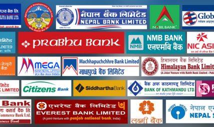 अधिकांश बाणिज्य बैंकहरुले ऋणको ब्याजदर घटाएर नयाँ ब्याजदर सार्वजनिक