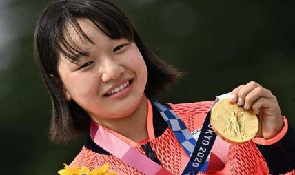 टोकियो ओलम्पिक २०२० मा १३ वर्षीया किशोरीले जितिन् स्वर्ण