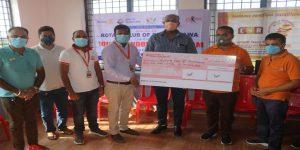 महालक्ष्मी विकास बैंकले महिलामैत्री शौचालयकालागि आर्थिक सहयोग