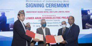 तल्लो अरुण जलविद्युत परियोजनाको सर्वेक्षण अनुमति जारी